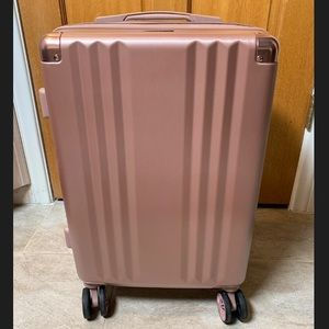 CALPAK AMBEUR CARRY-ON LUGGAGE - ROSE GOLD